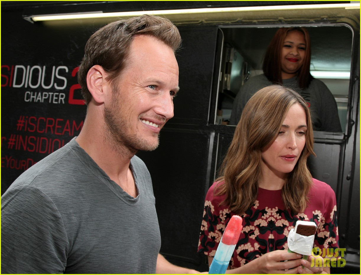 rose byrne patrick wilson promote insidious chapter 2 07