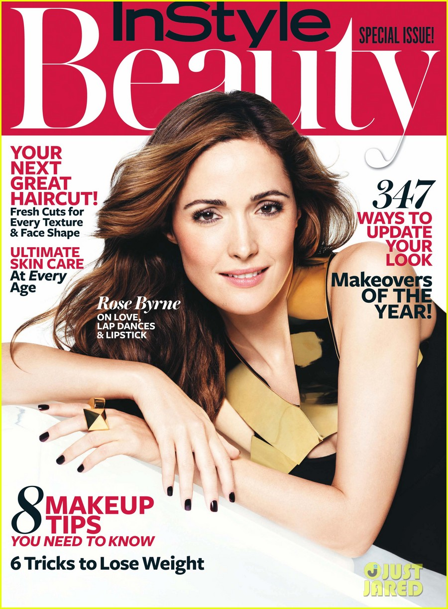 rose byrne covers instyle beautys fall issue 012950777