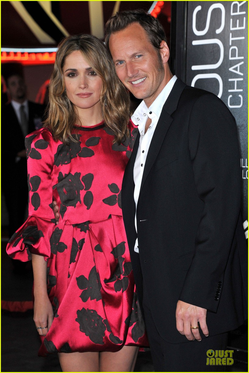 rose byrne patrick wilson insidious chapter 2 premiere 022949831