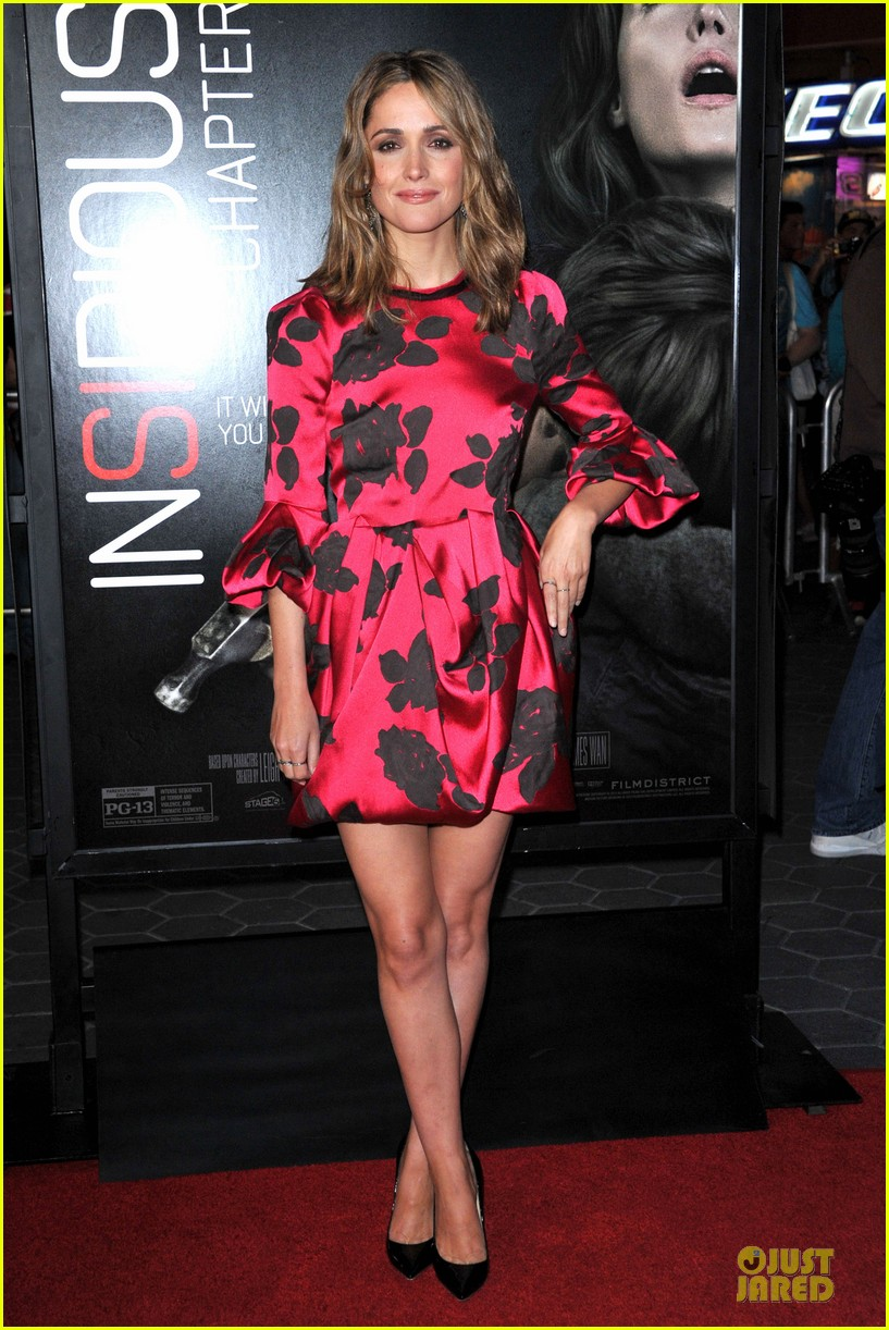 rose byrne patrick wilson insidious chapter 2 premiere 062949835