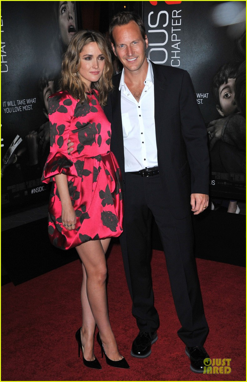 rose byrne patrick wilson insidious chapter 2 premiere 07