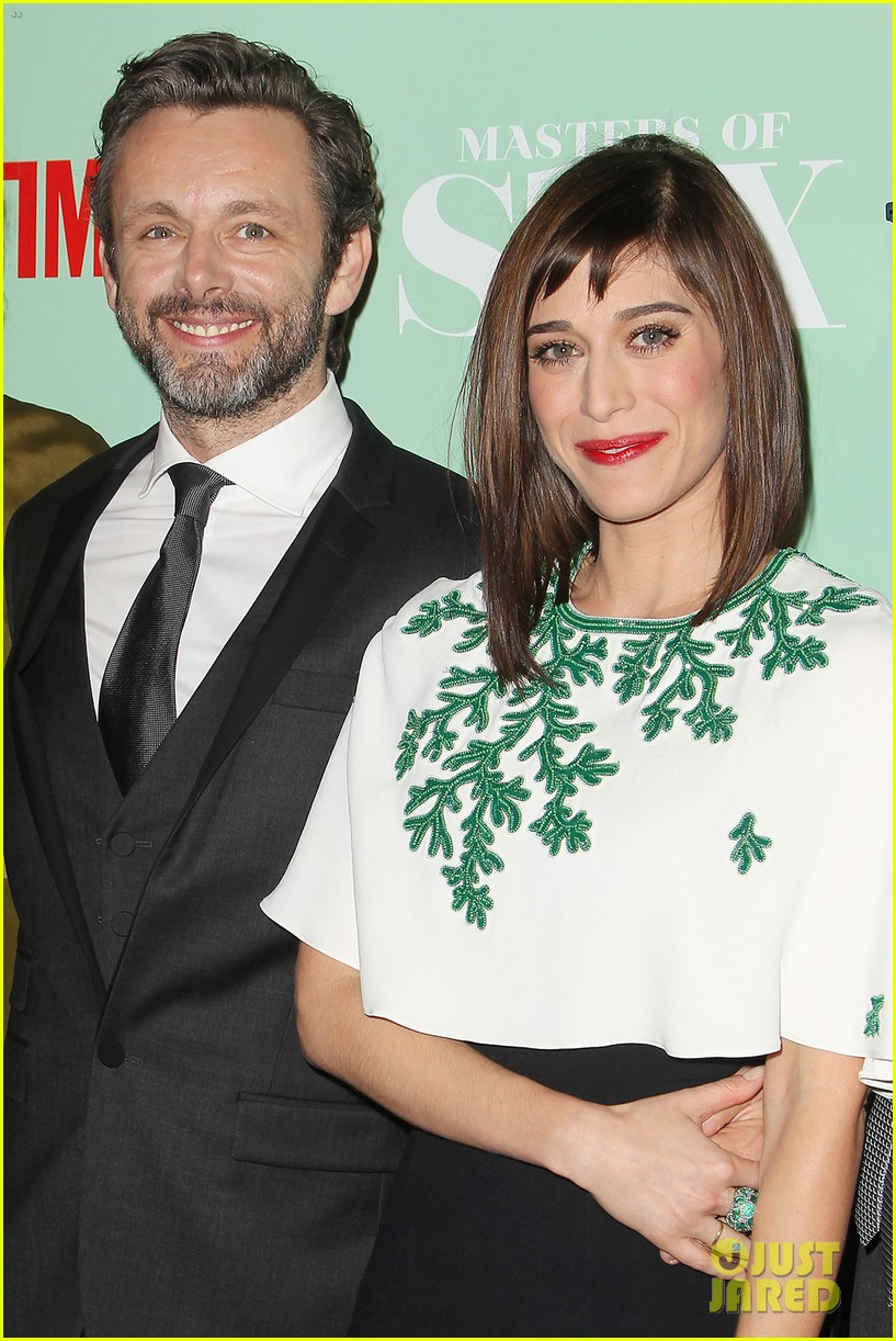 lizzy caplan michael sheen masters of sex nyc premiere 062960799