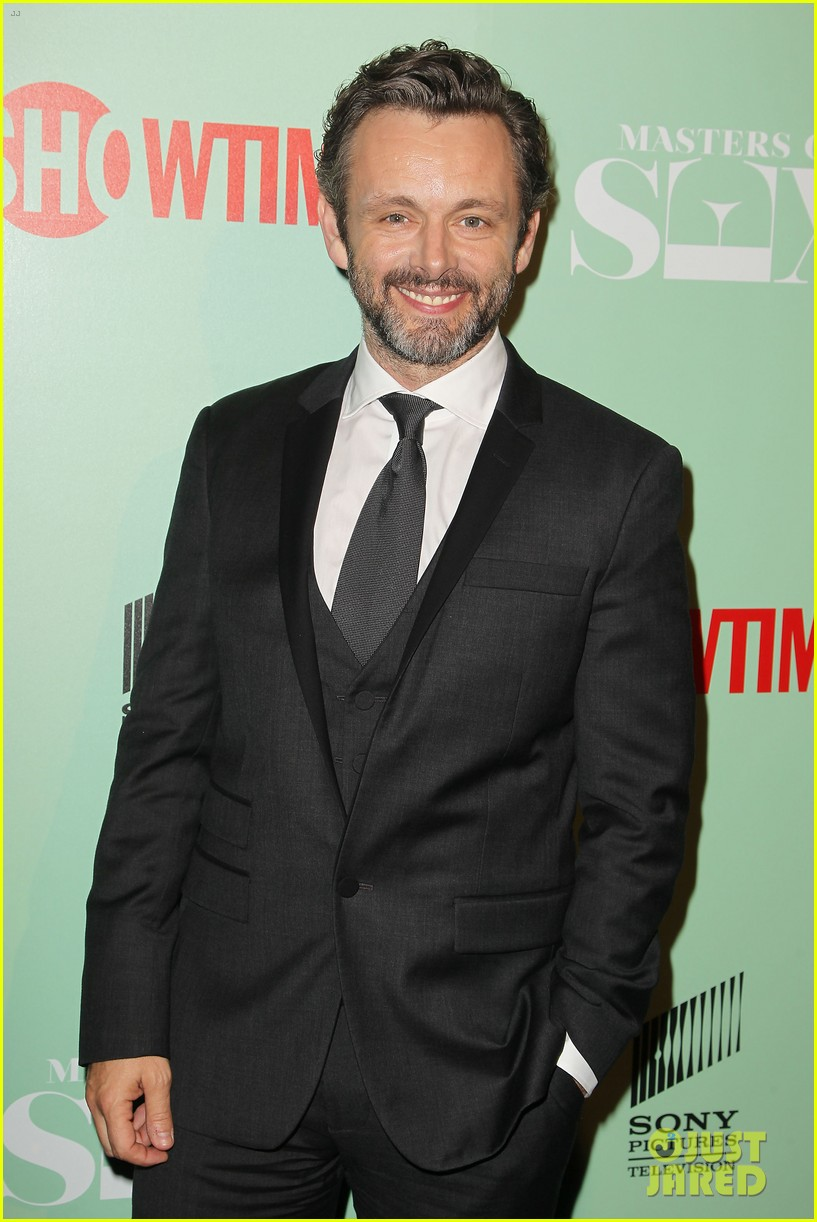 lizzy caplan michael sheen masters of sex nyc premiere 072960800