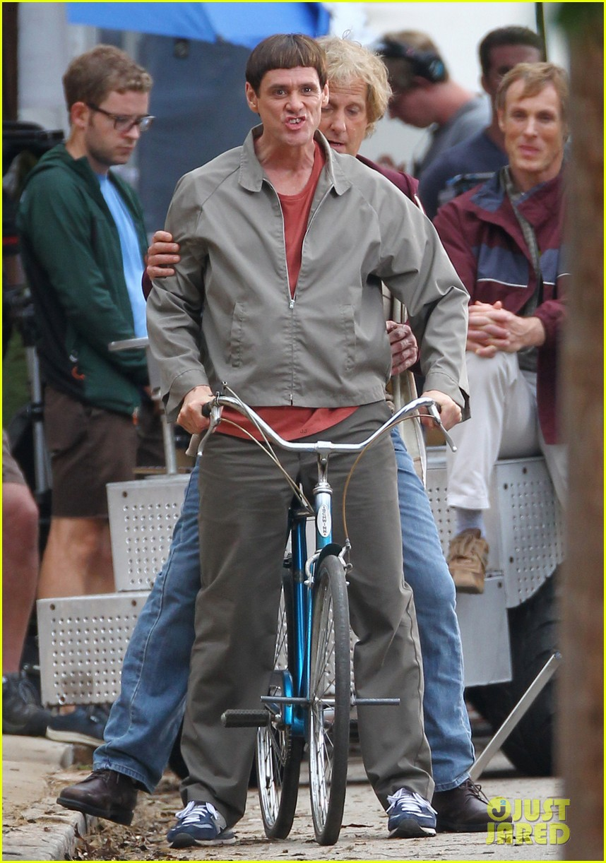 jim carrey jeff daniels begin filming dumb and dumber to 072959723