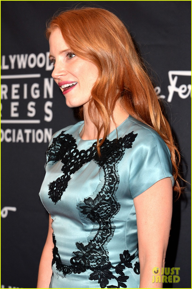 jessica chastain jennifer morrison hfpa instyle tiff party 18