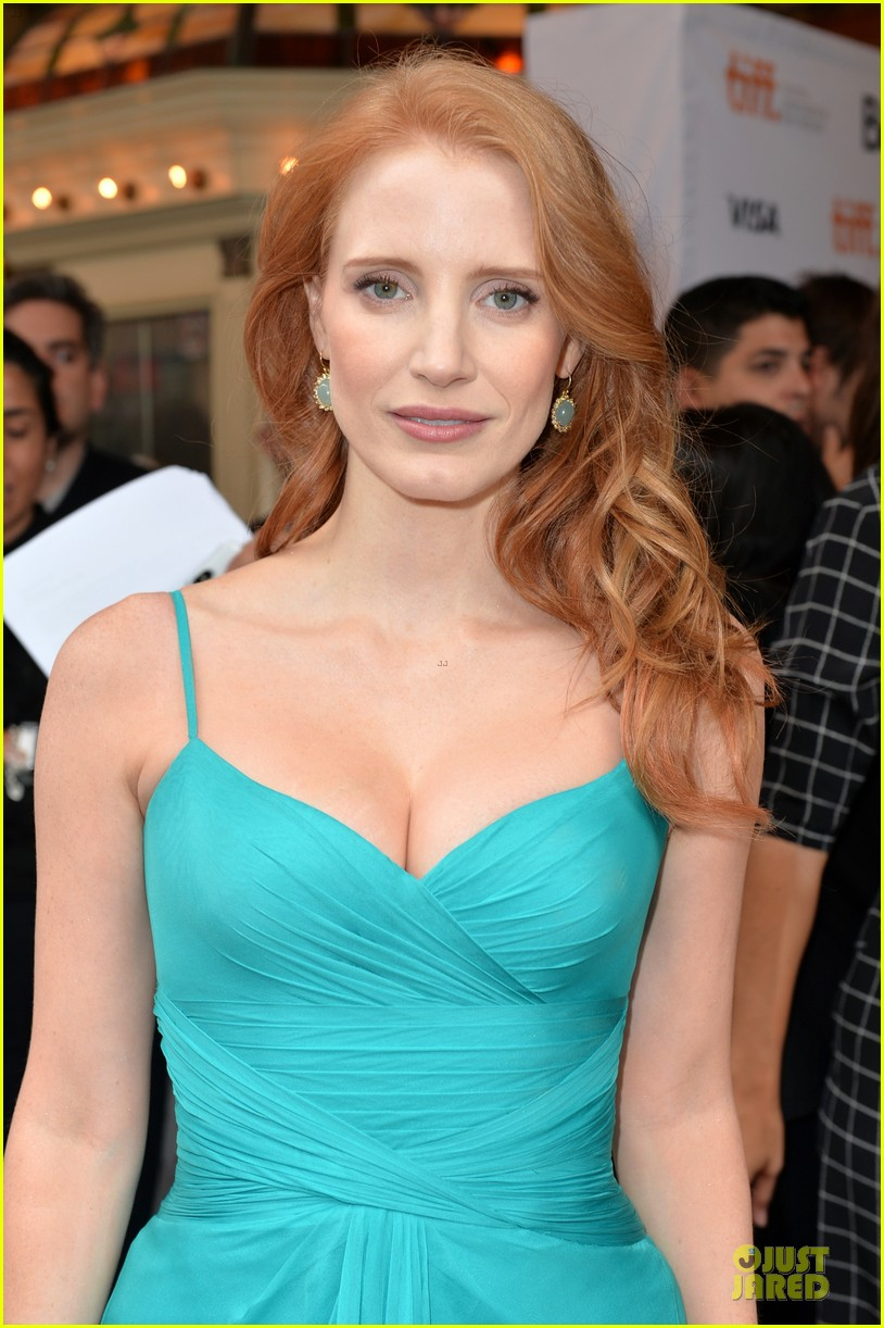 jessica chastain james mcavoy disappearance of eleanor rigby tiff premiere 172948490