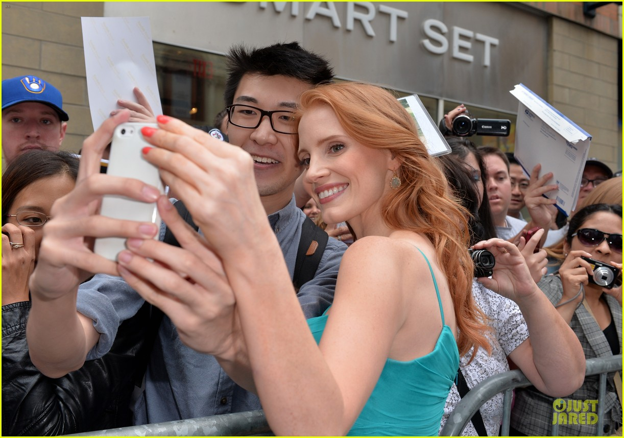 jessica chastain james mcavoy disappearance of eleanor rigby tiff premiere 252948498