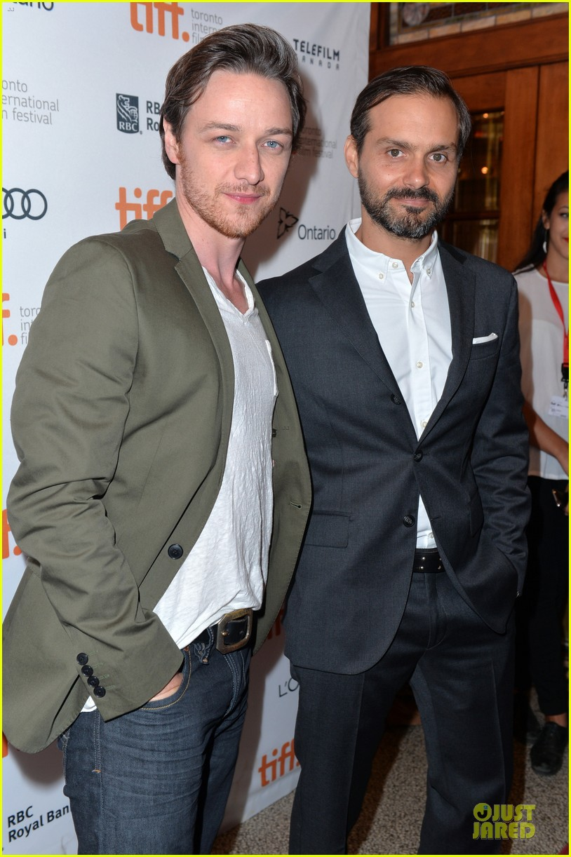 jessica chastain james mcavoy disappearance of eleanor rigby tiff premiere 282948501