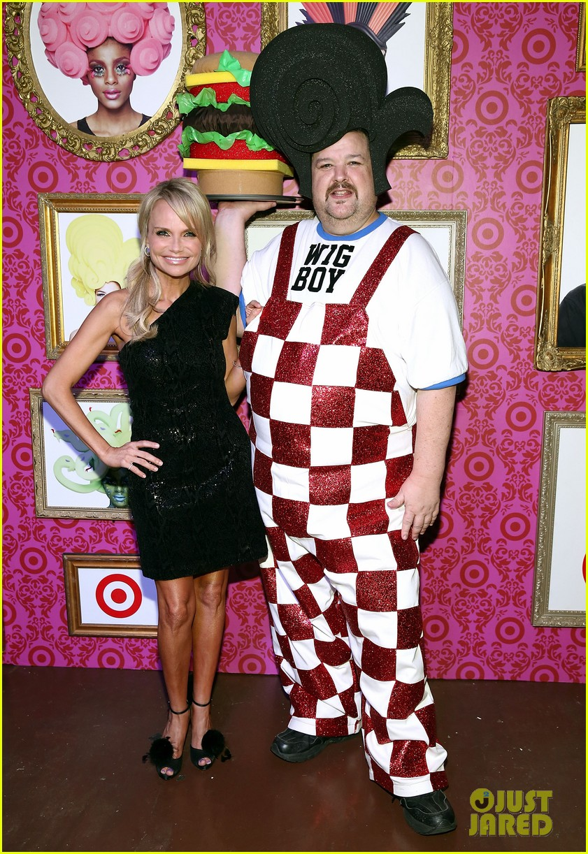 kristin chenoweth chris march for target launch event 012960870