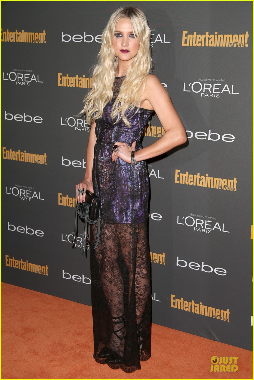 kristin chenoweth ashlee simpson ew pre emmy party 062956674