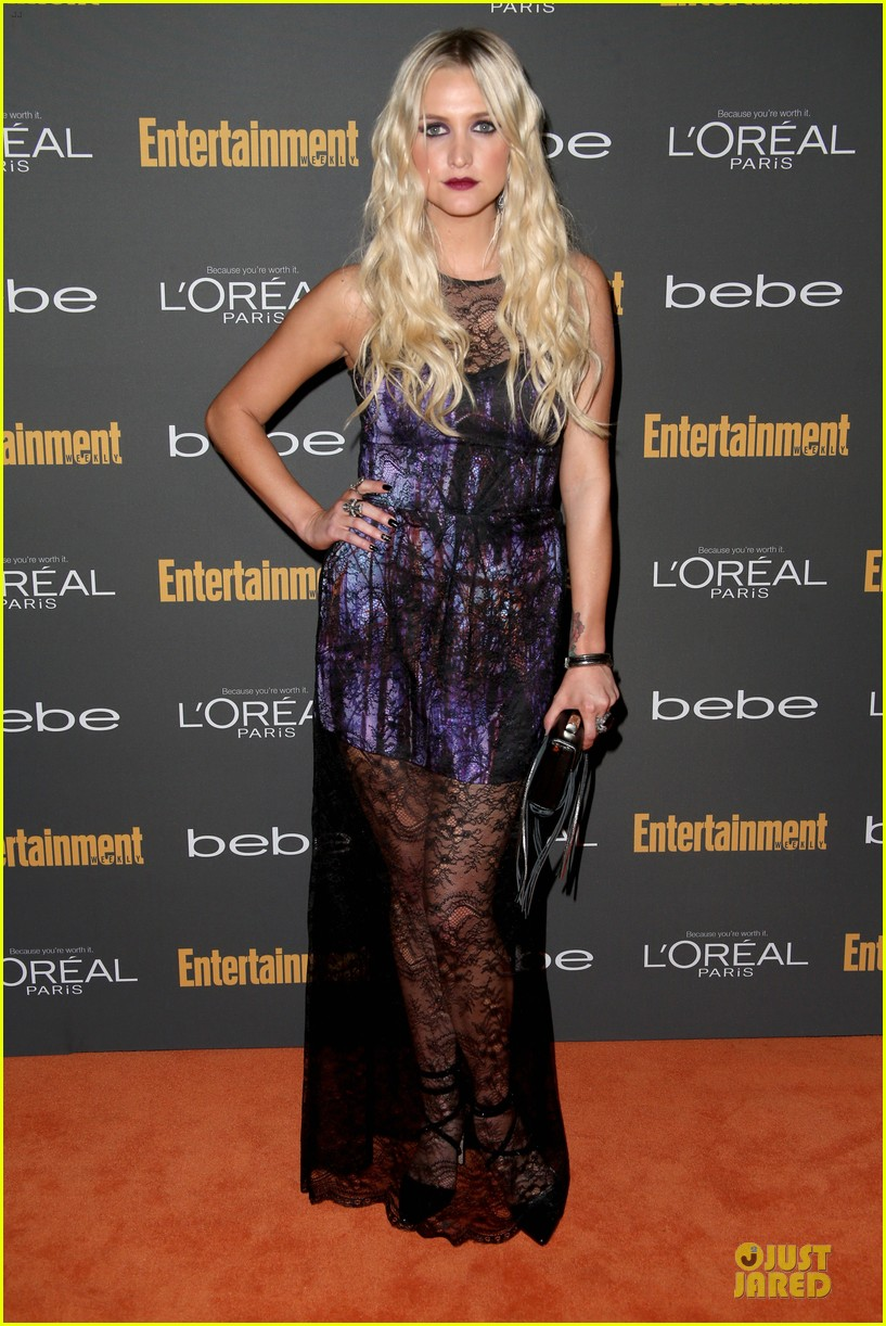kristin chenoweth ashlee simpson ew pre emmy party 092956677