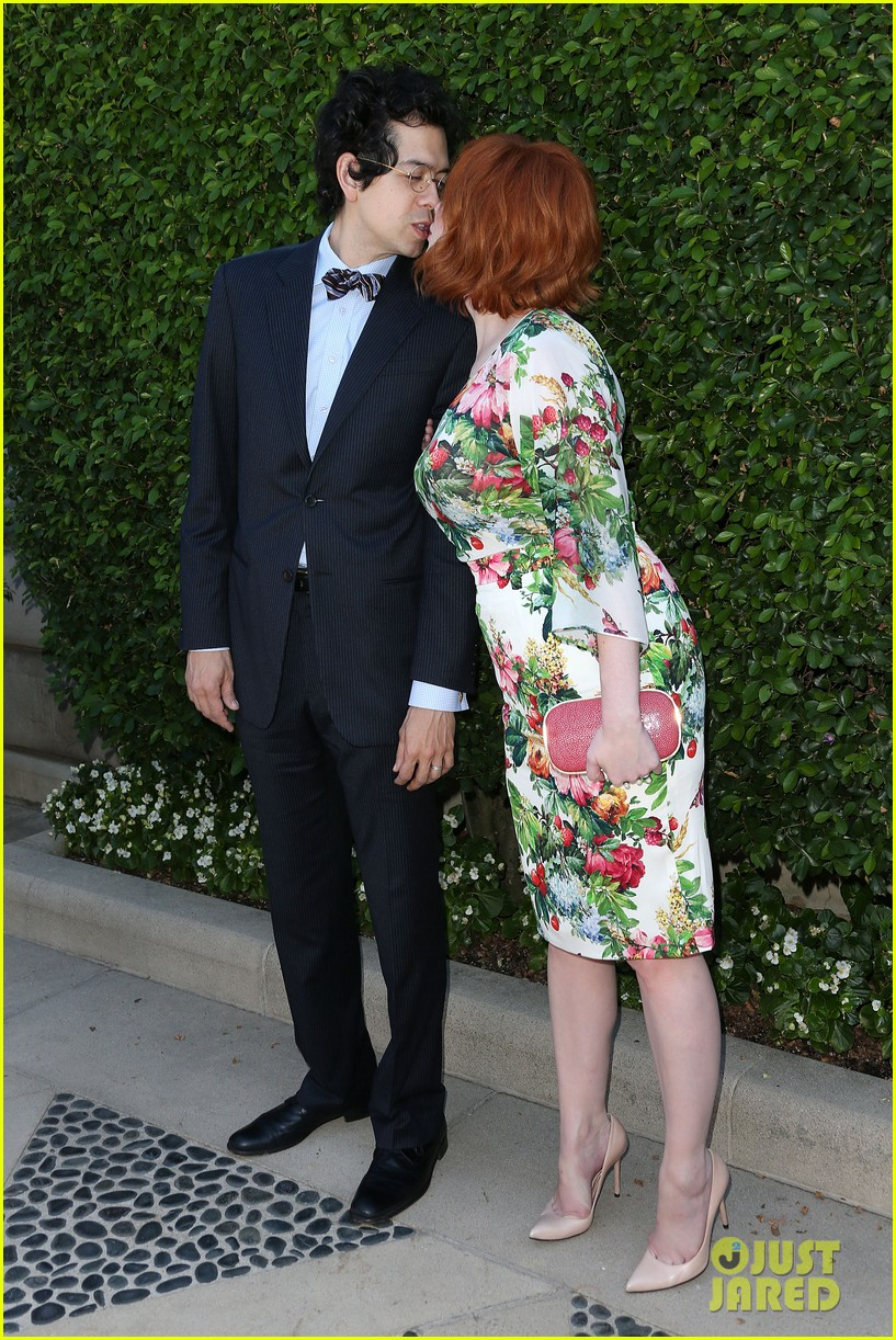 christina hendricks emily deschanel rape foundation annual brunch 112962882