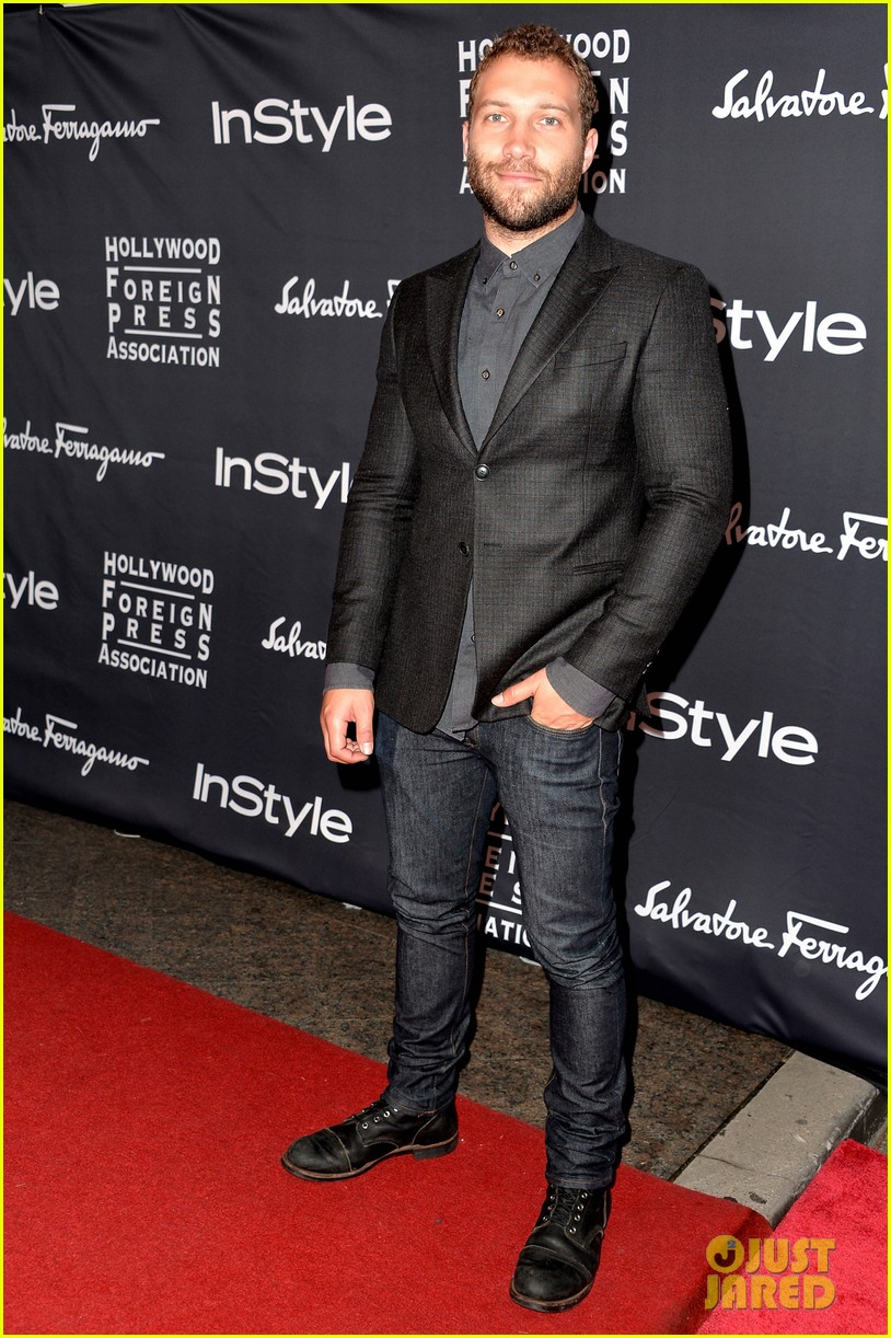 emilia clarke jai courtney hfpa instyle tiff party 12