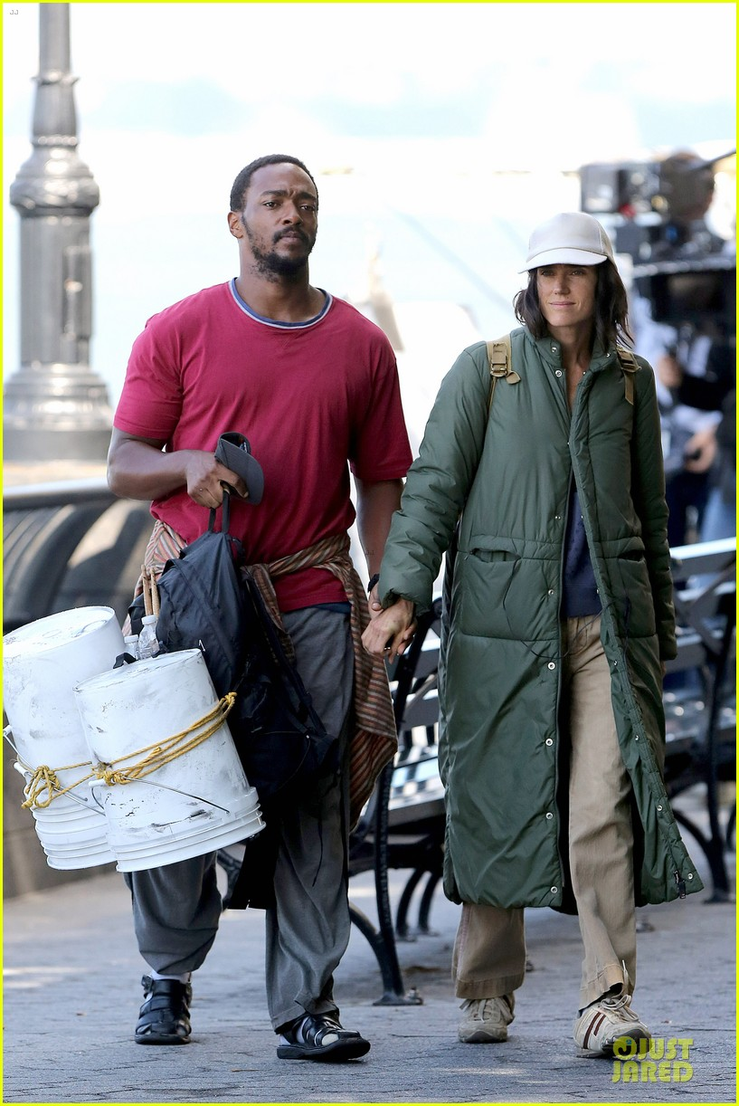 jennifer connelly anthony mackie hold hands for shelter 032961918