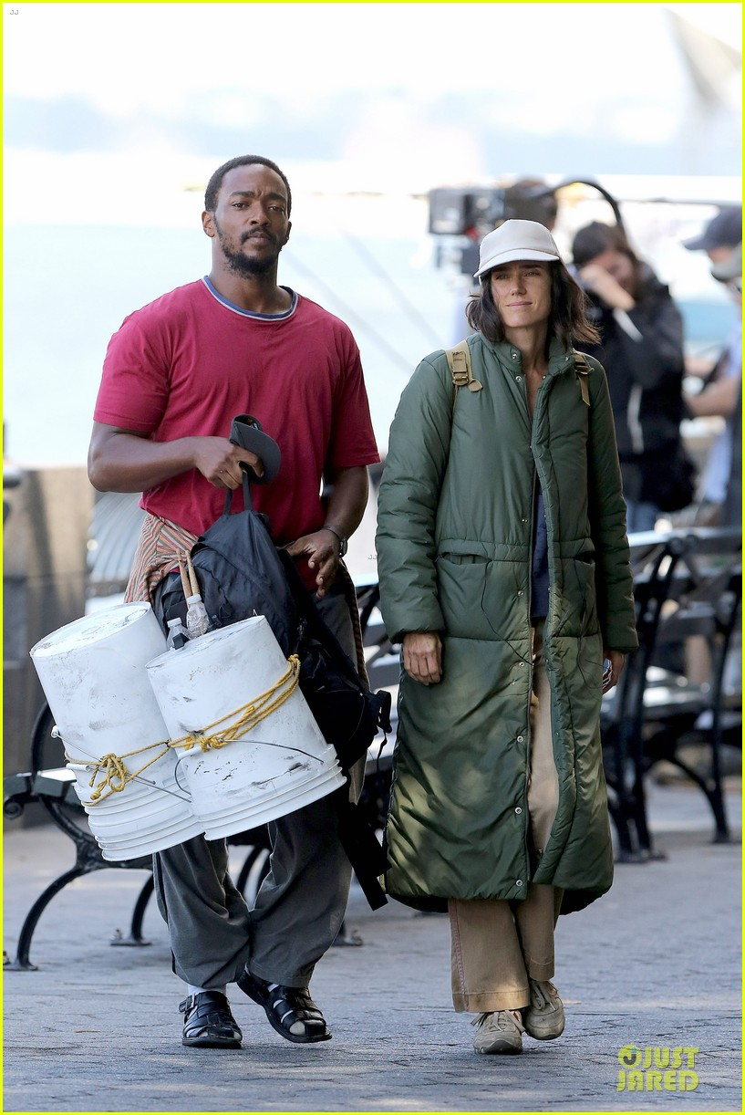 jennifer connelly anthony mackie hold hands for shelter 312961946