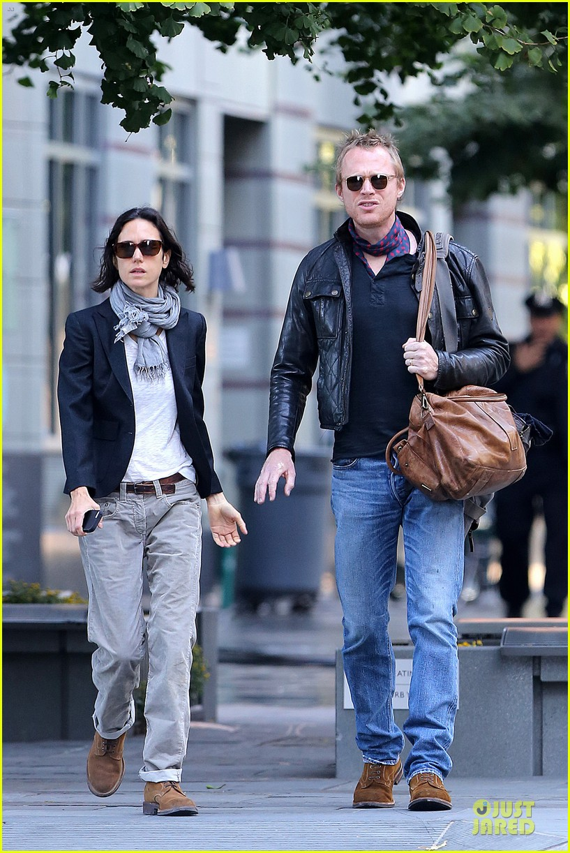 jennifer connelly anthony mackie hold hands for shelter 332961948