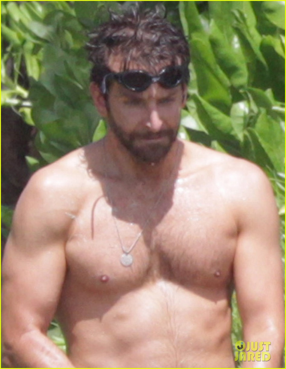 bradley cooper shirtless at the beach with suki waterhouse 062963526