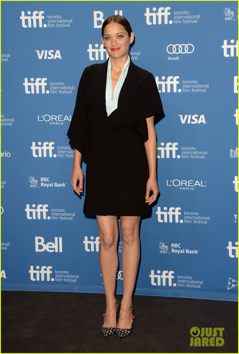 marion cotillard blood ties tiff press conference 012949368