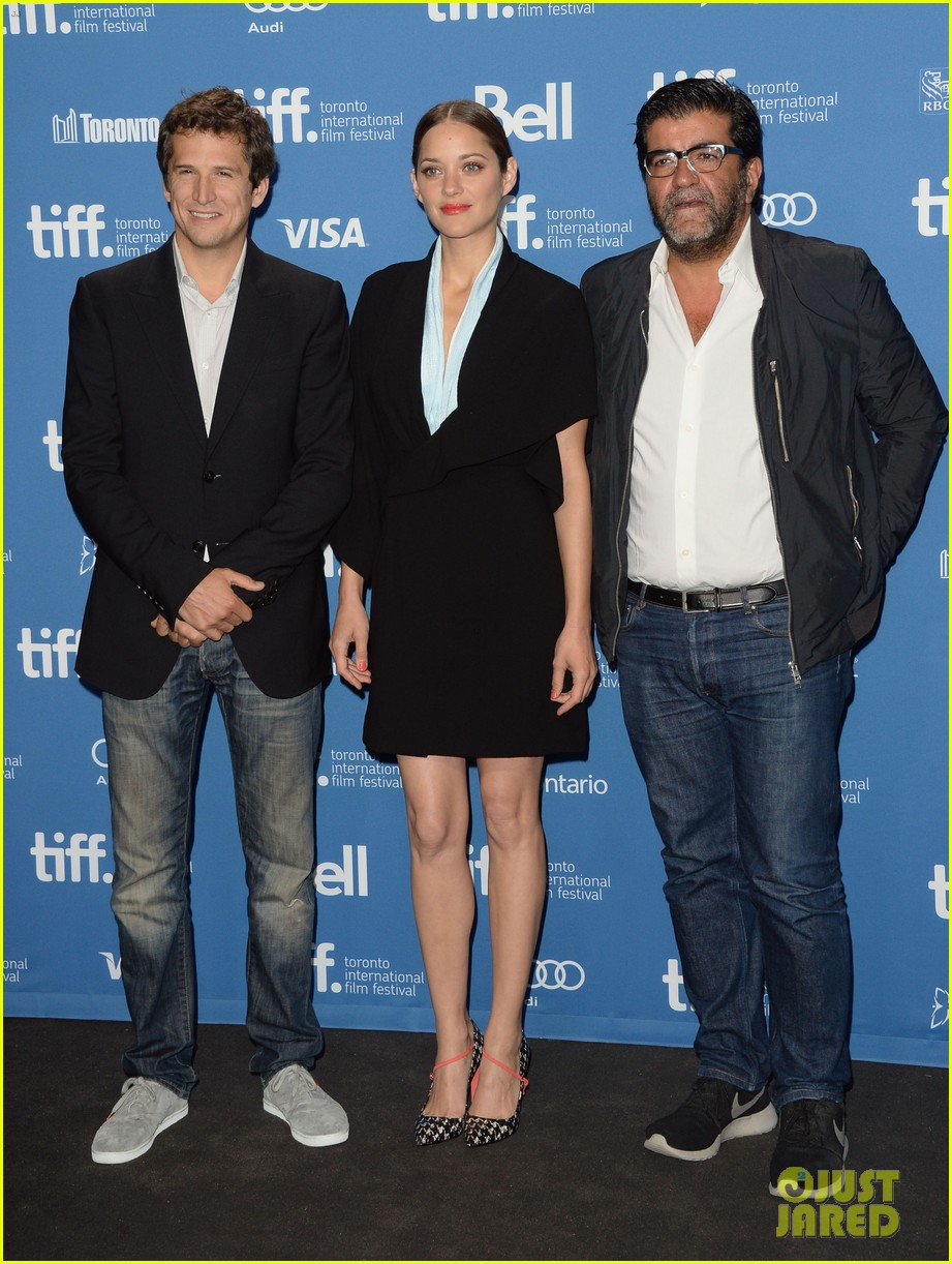 marion cotillard blood ties tiff press conference 032949370