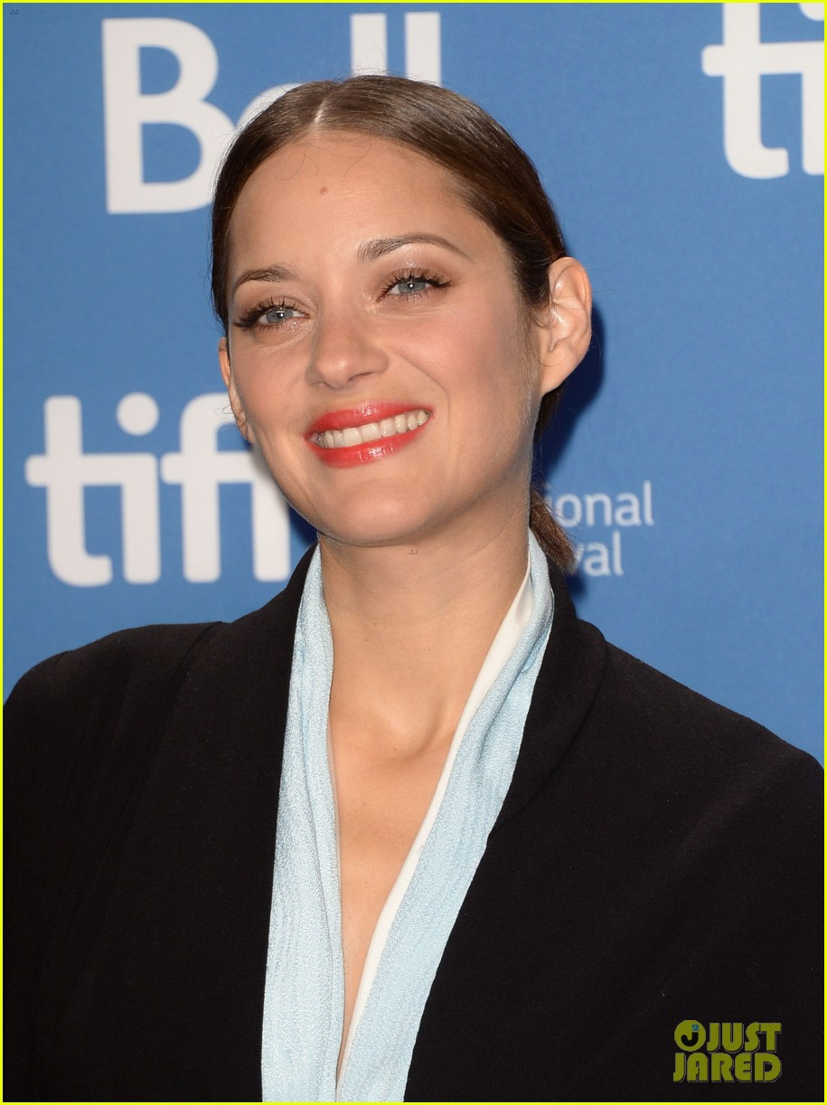 marion cotillard blood ties tiff press conference 092949376