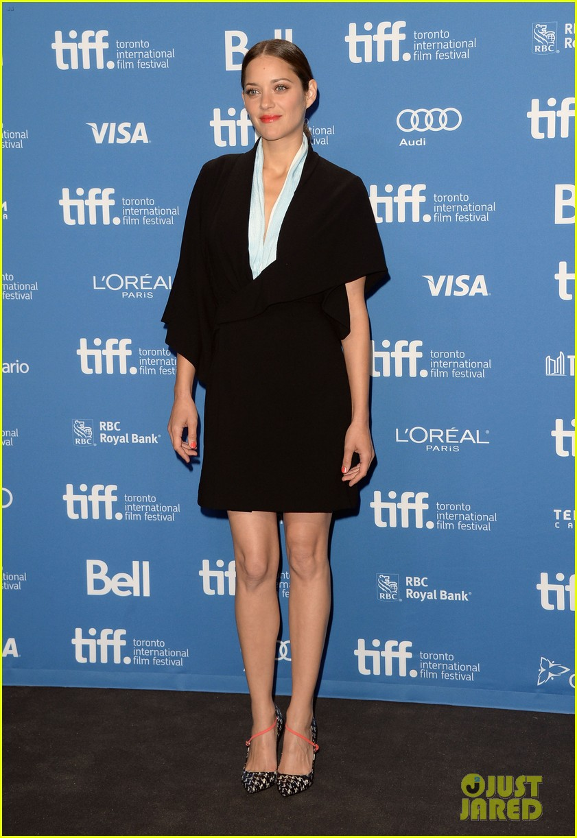 marion cotillard blood ties tiff press conference 102949377