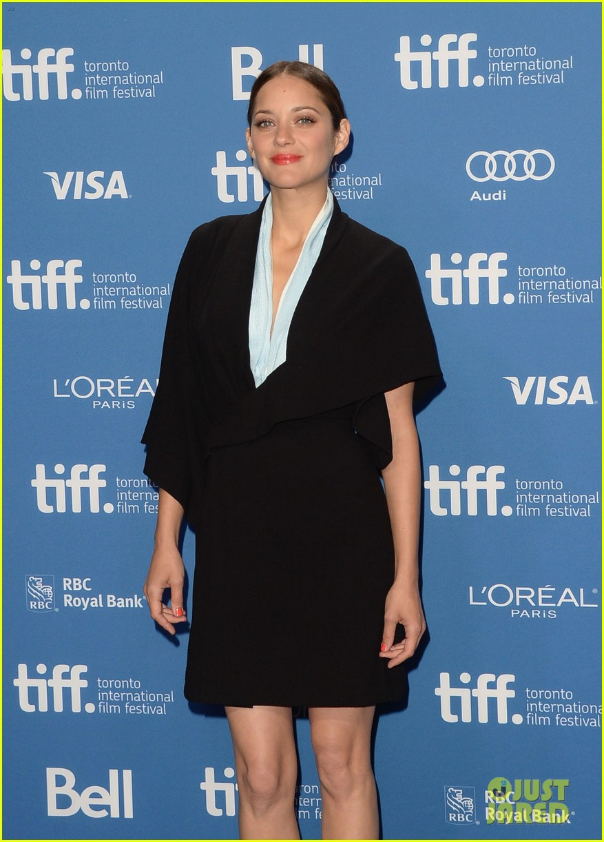 marion cotillard blood ties tiff press conference 112949378