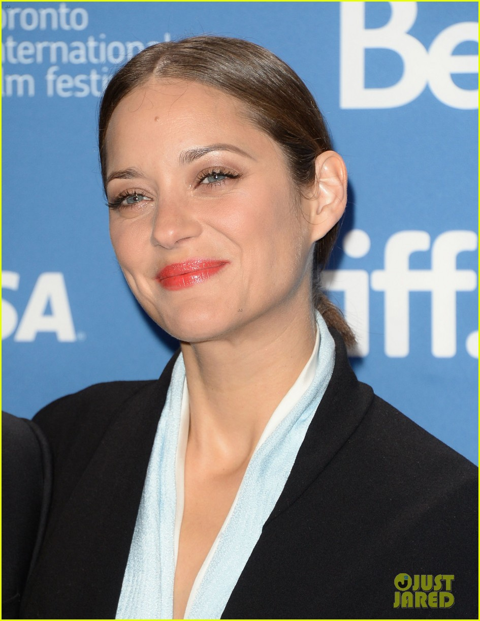 marion cotillard blood ties tiff press conference 122949379