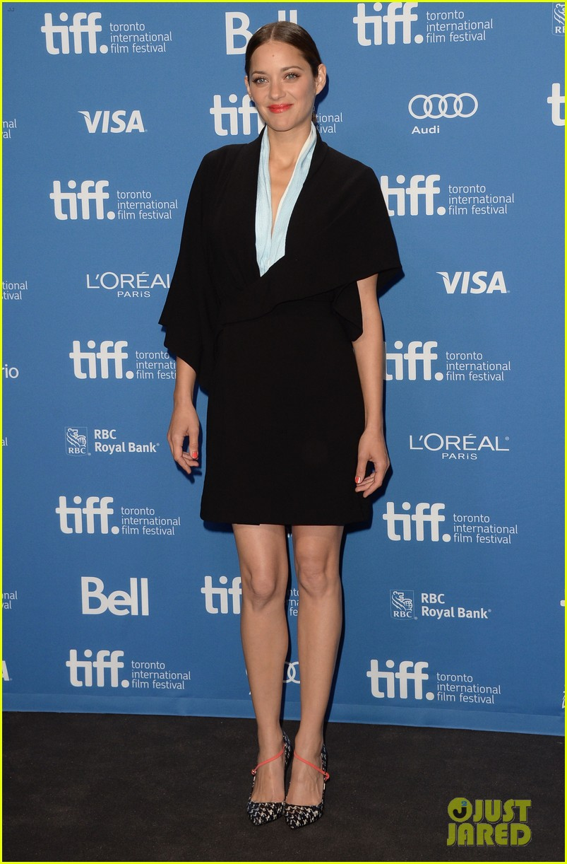 marion cotillard blood ties tiff press conference 132949380