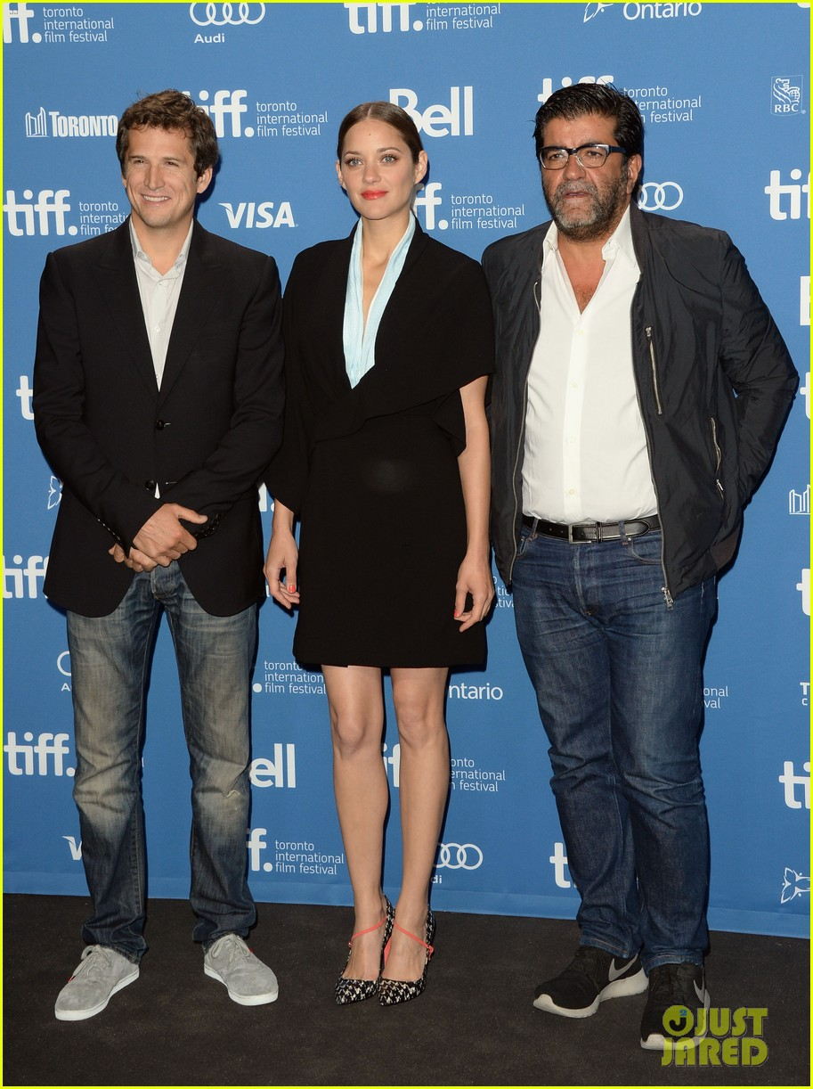 marion cotillard blood ties tiff press conference 162949383