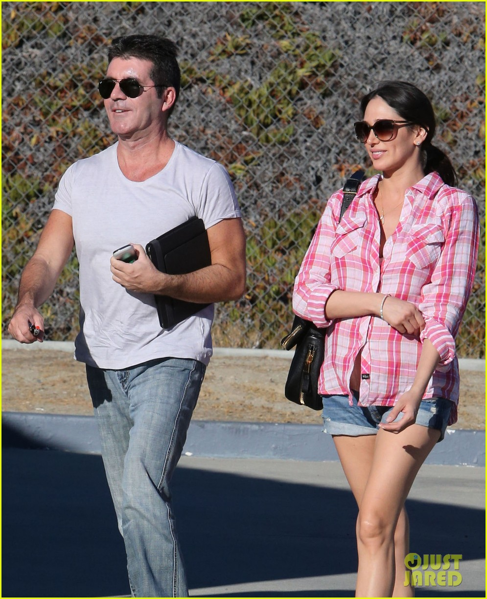 simon cowell lauren silverman weekend lovers 132963057