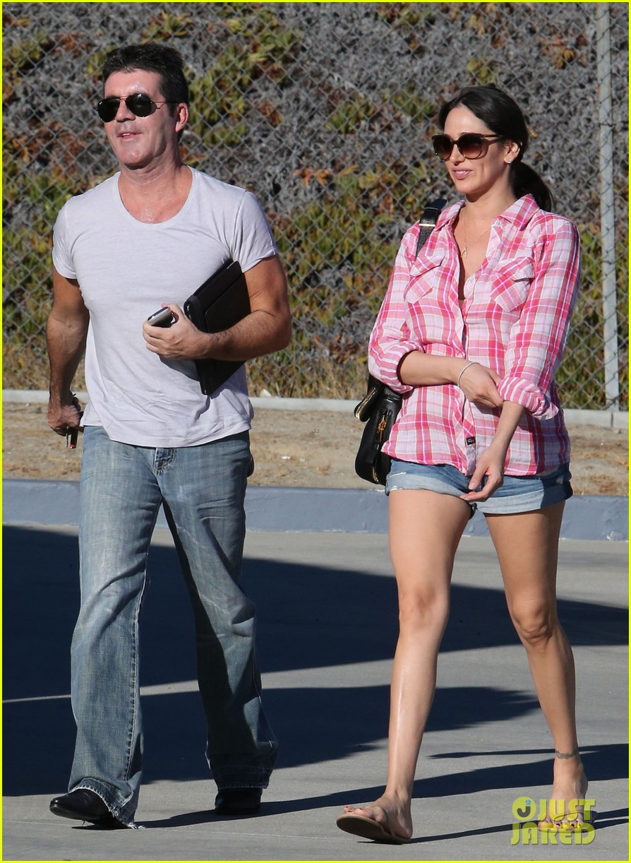 simon cowell lauren silverman weekend lovers 172963061