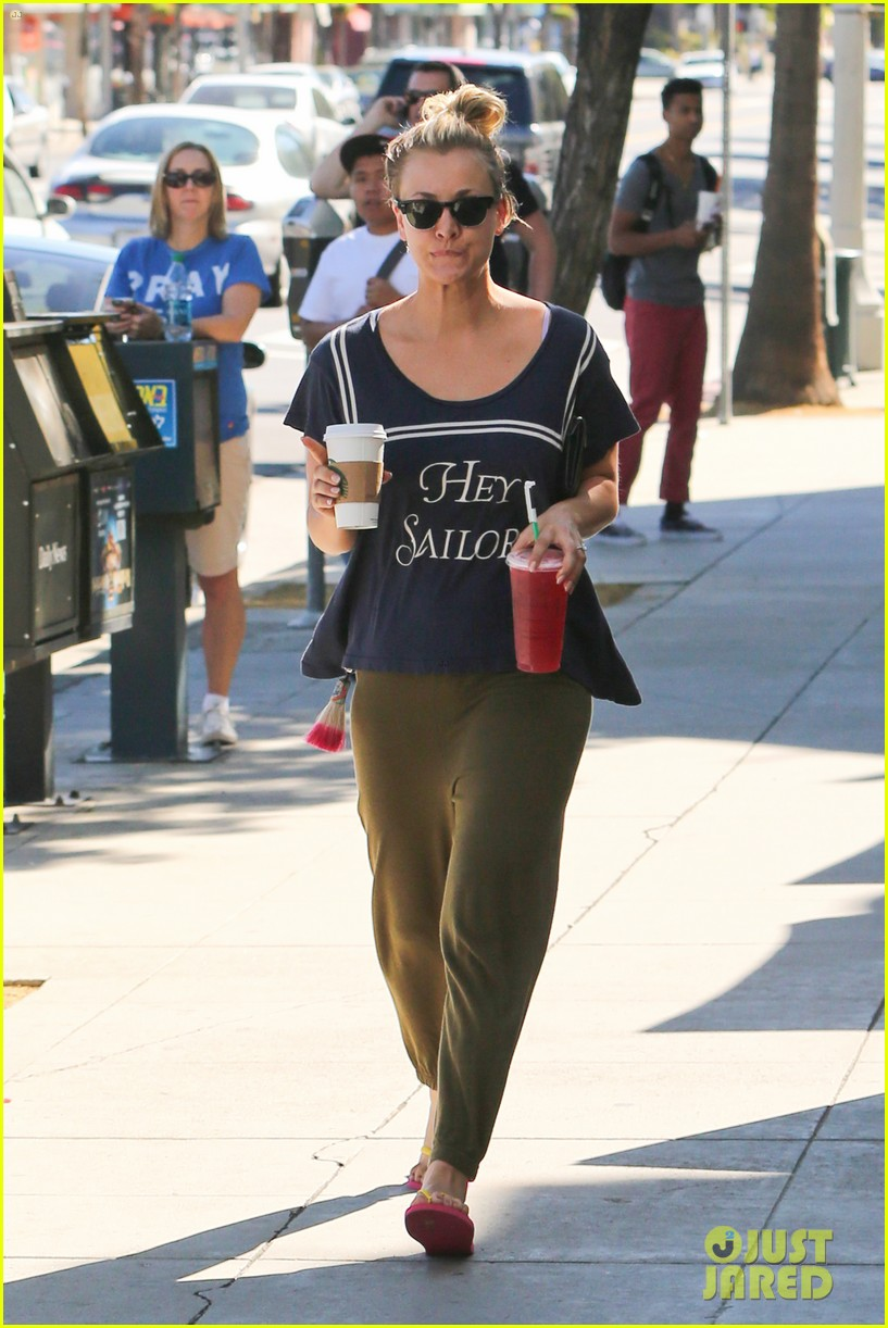 kaley cuoco ryan sweeting step out after engagement news 132961797