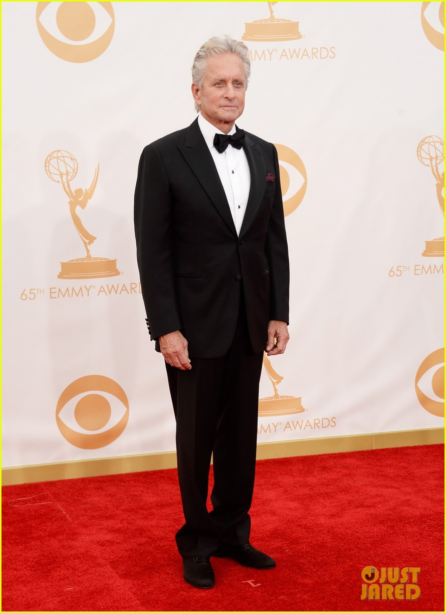 mattdamon michael douglas emmy awards red carpet 062958139