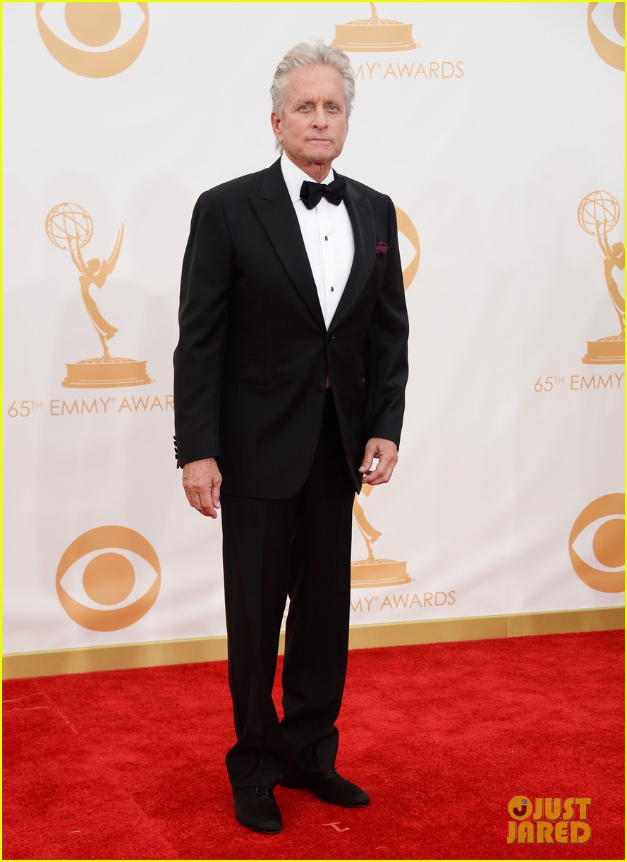 mattdamon michael douglas emmy awards red carpet 072958140