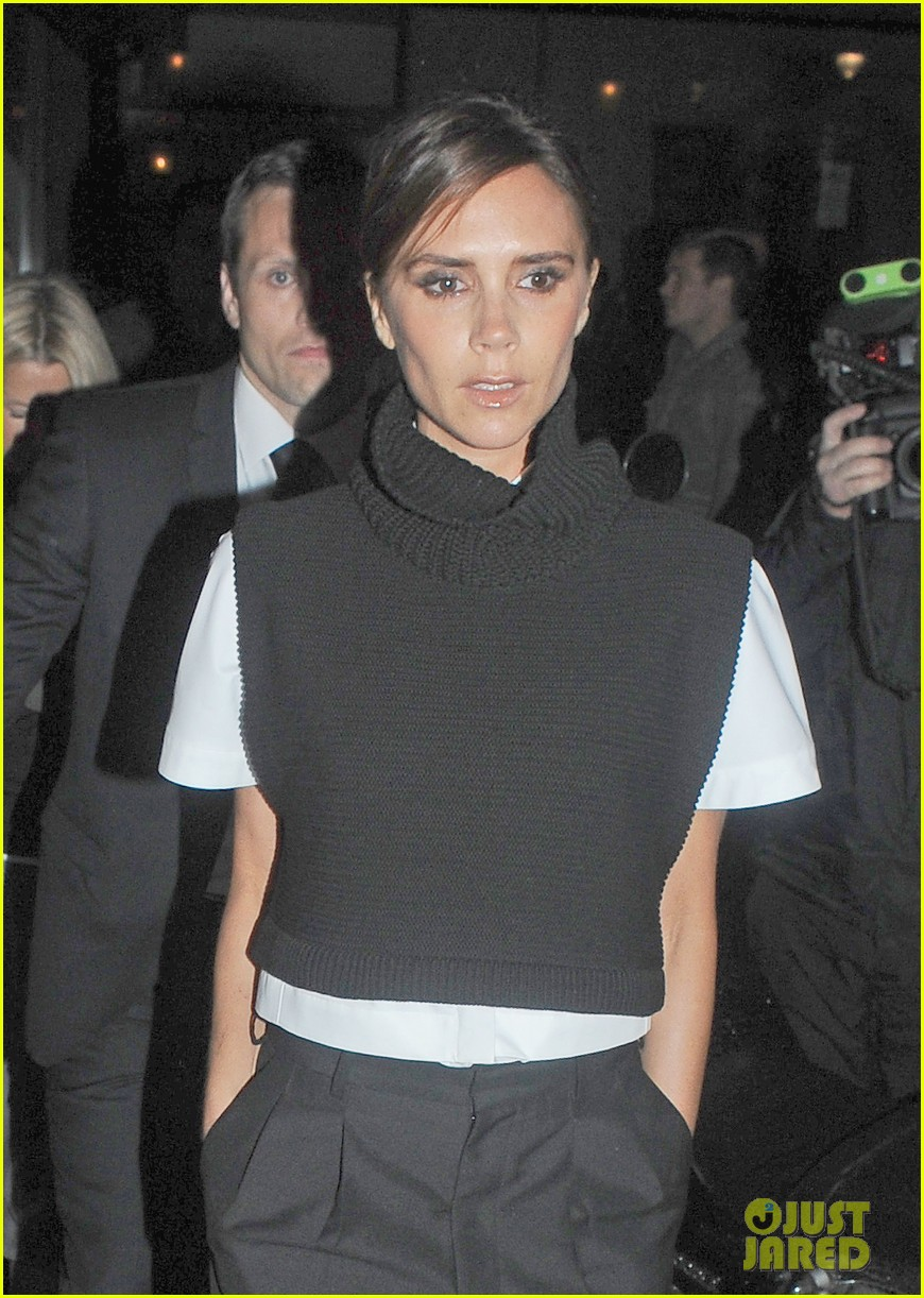 victoria david beckham separate london events 152952948