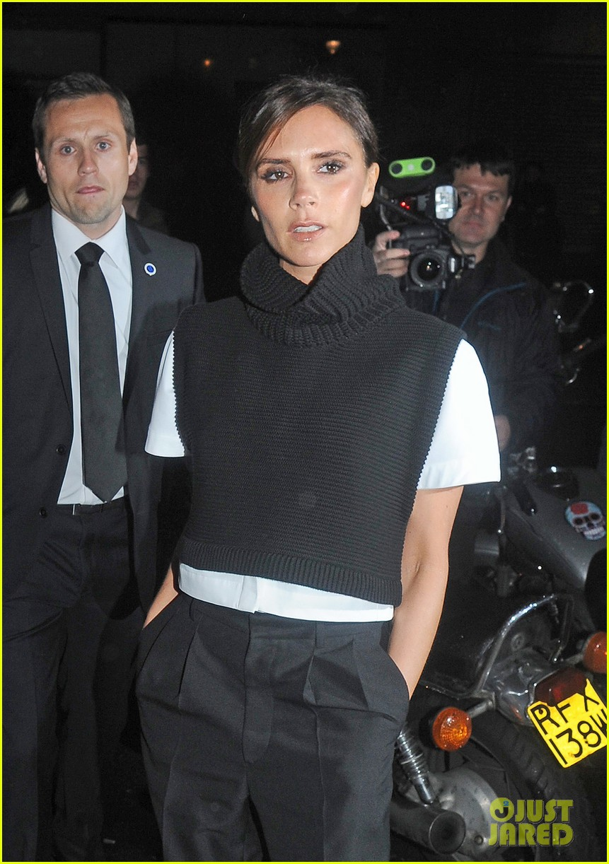 victoria david beckham separate london events 172952950