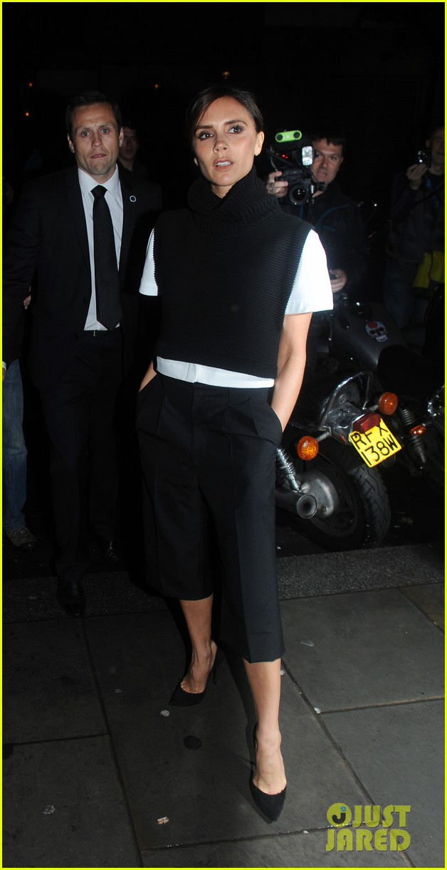 victoria david beckham separate london events 202952953