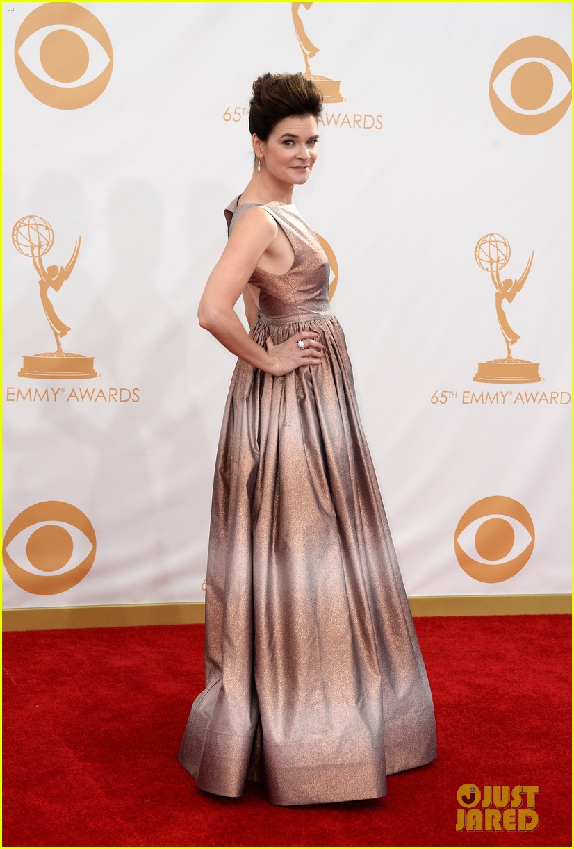 betsy brant dean norris emmys 2013 red carpet 092958157