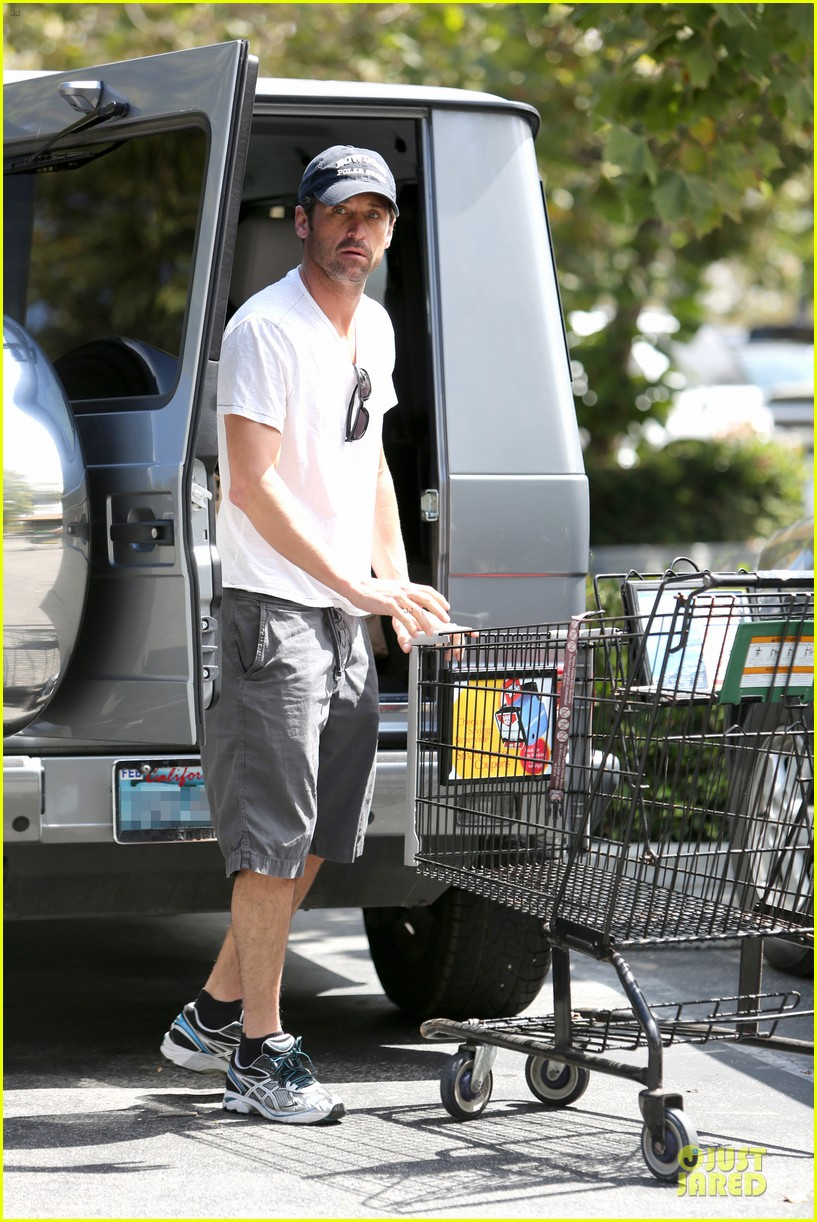 patrick dempsey labor day shopping after grand prix race 042943240