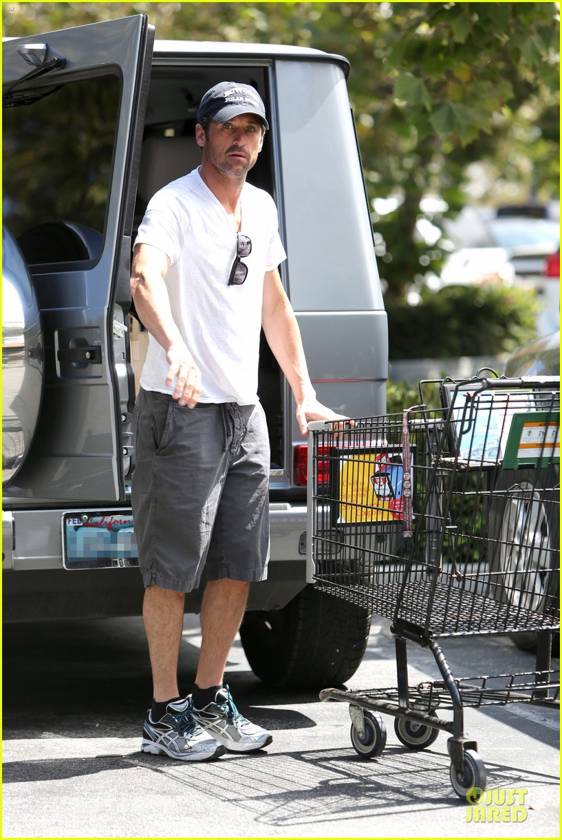 patrick dempsey labor day shopping after grand prix race 062943242