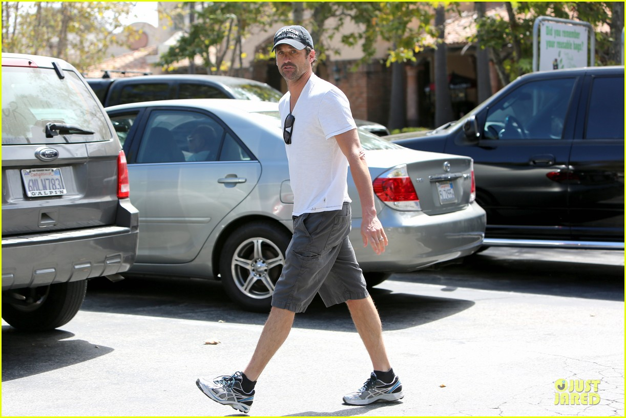 patrick dempsey labor day shopping after grand prix race 072943243