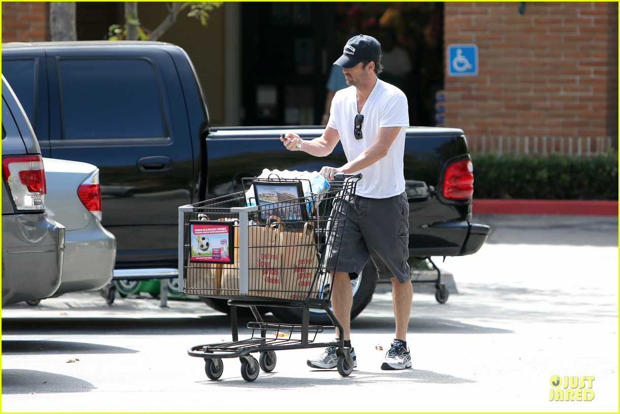 patrick dempsey labor day shopping after grand prix race 122943248