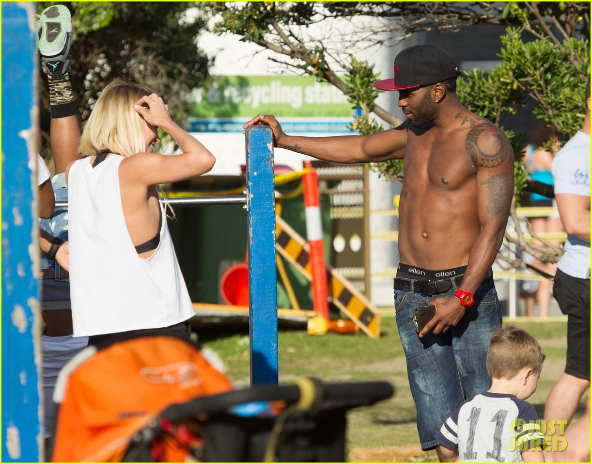 jason derulo shirtless workout in australia 232963174