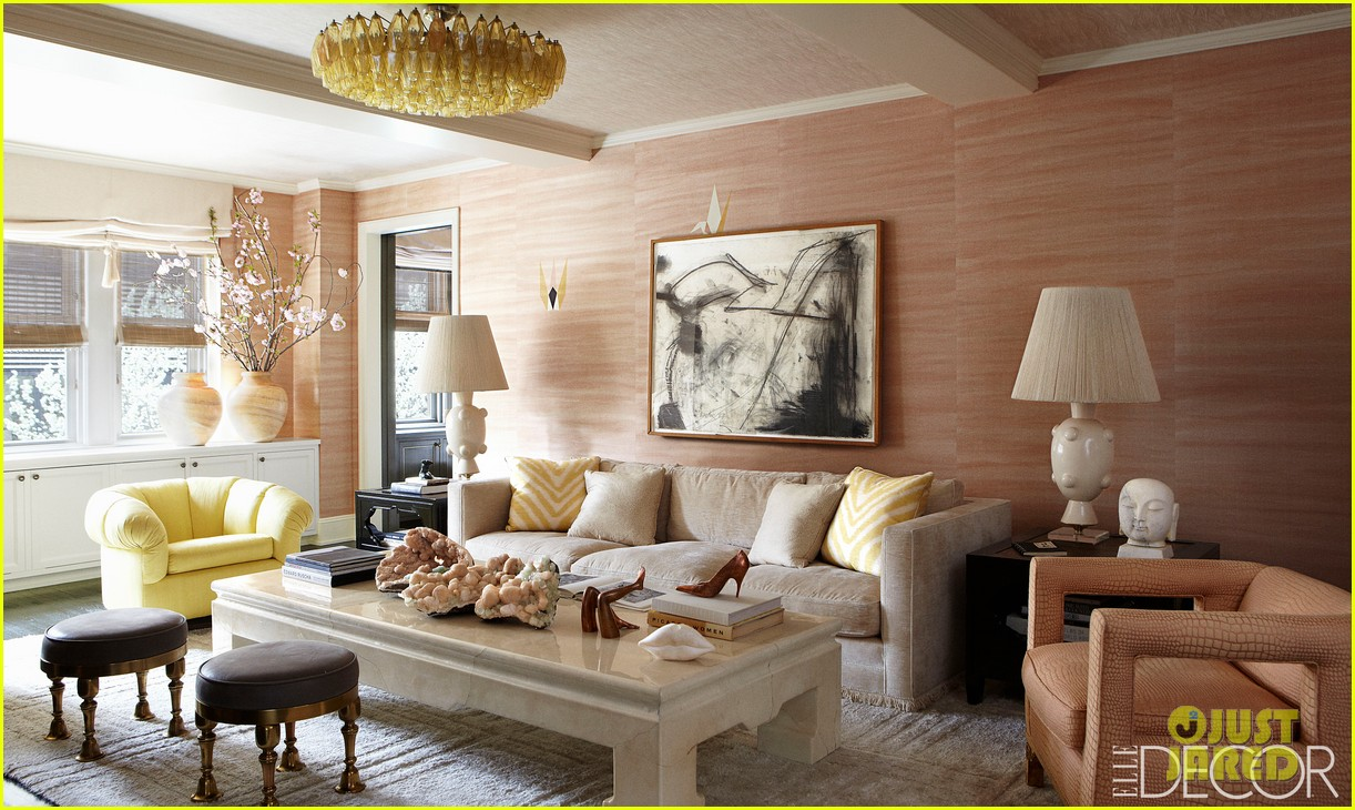 cameron diaz shows off nyc apartment for elle decor 042943577