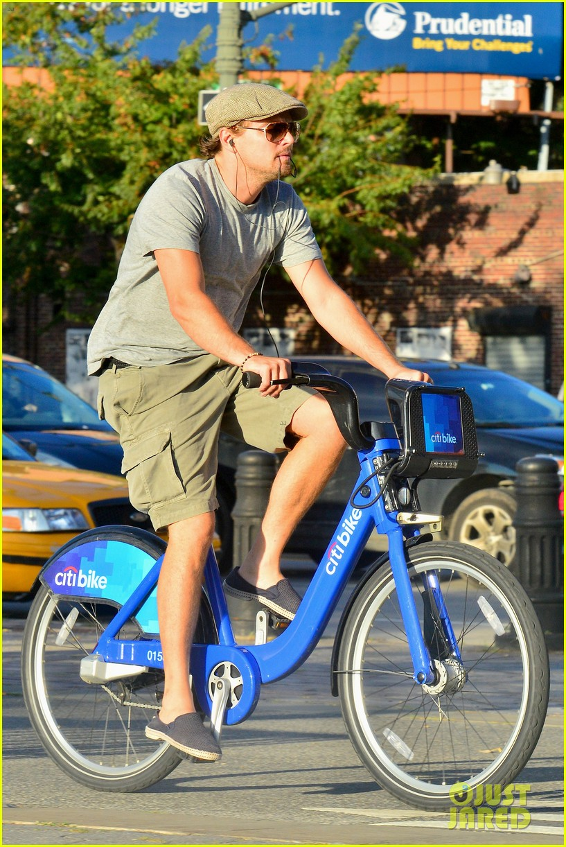 leonardo dicaprio citibike ride after us open date 032944071
