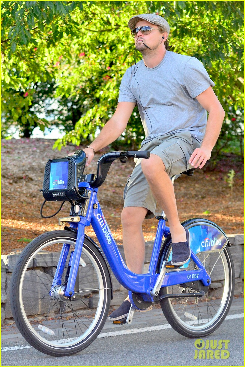 leonardo dicaprio citibike ride after us open date 052944073