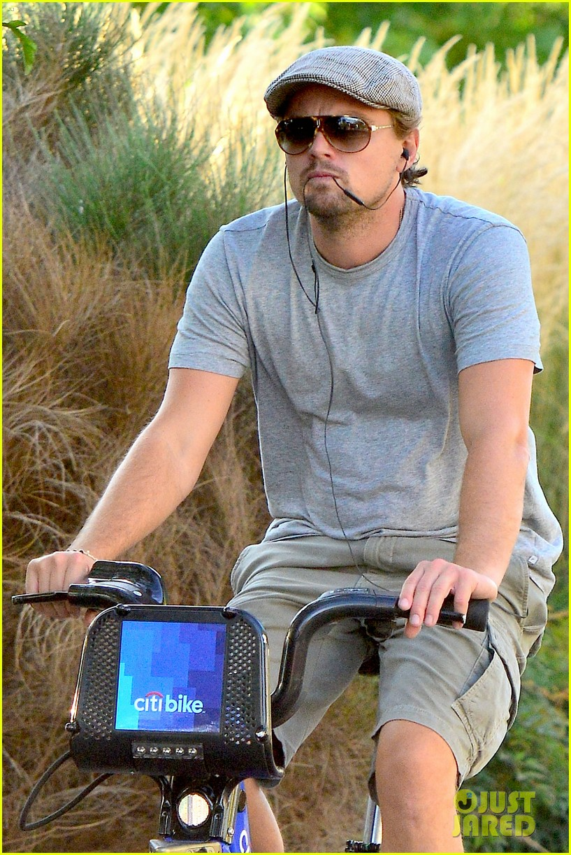 leonardo dicaprio citibike ride after us open date 072944075