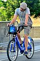 leonardo dicaprio citibike ride after us open date 10