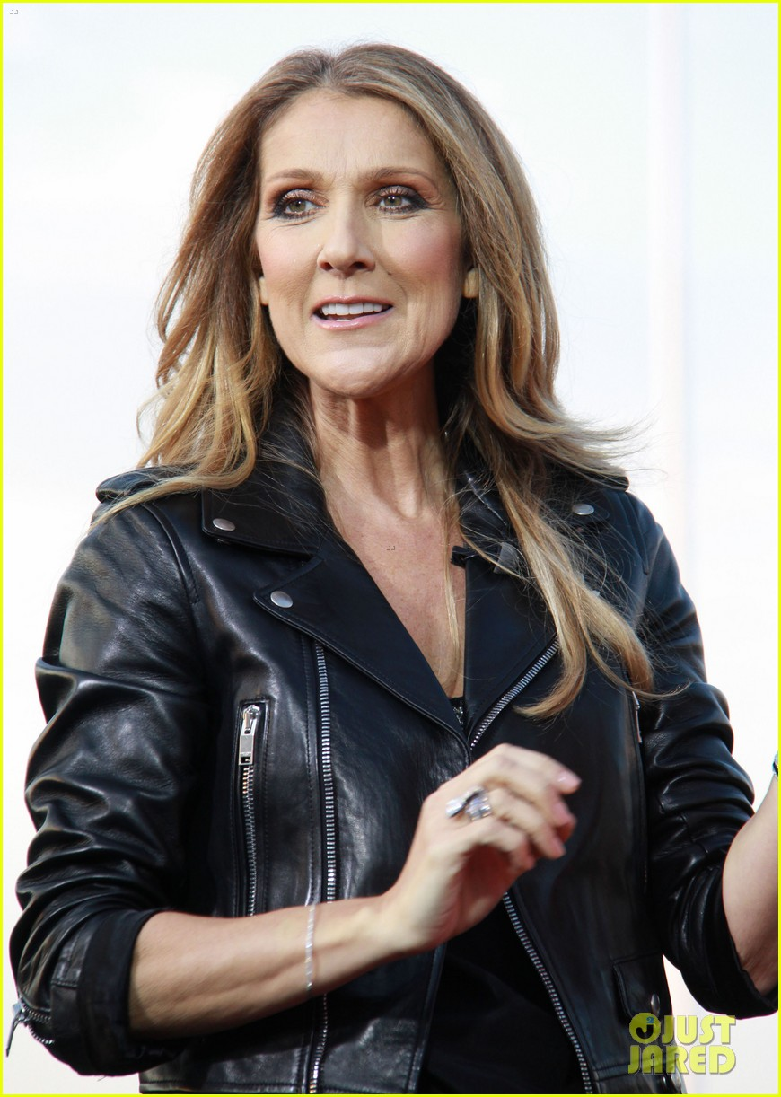 celine dion tapes extra appearance with maria menounos 022948971