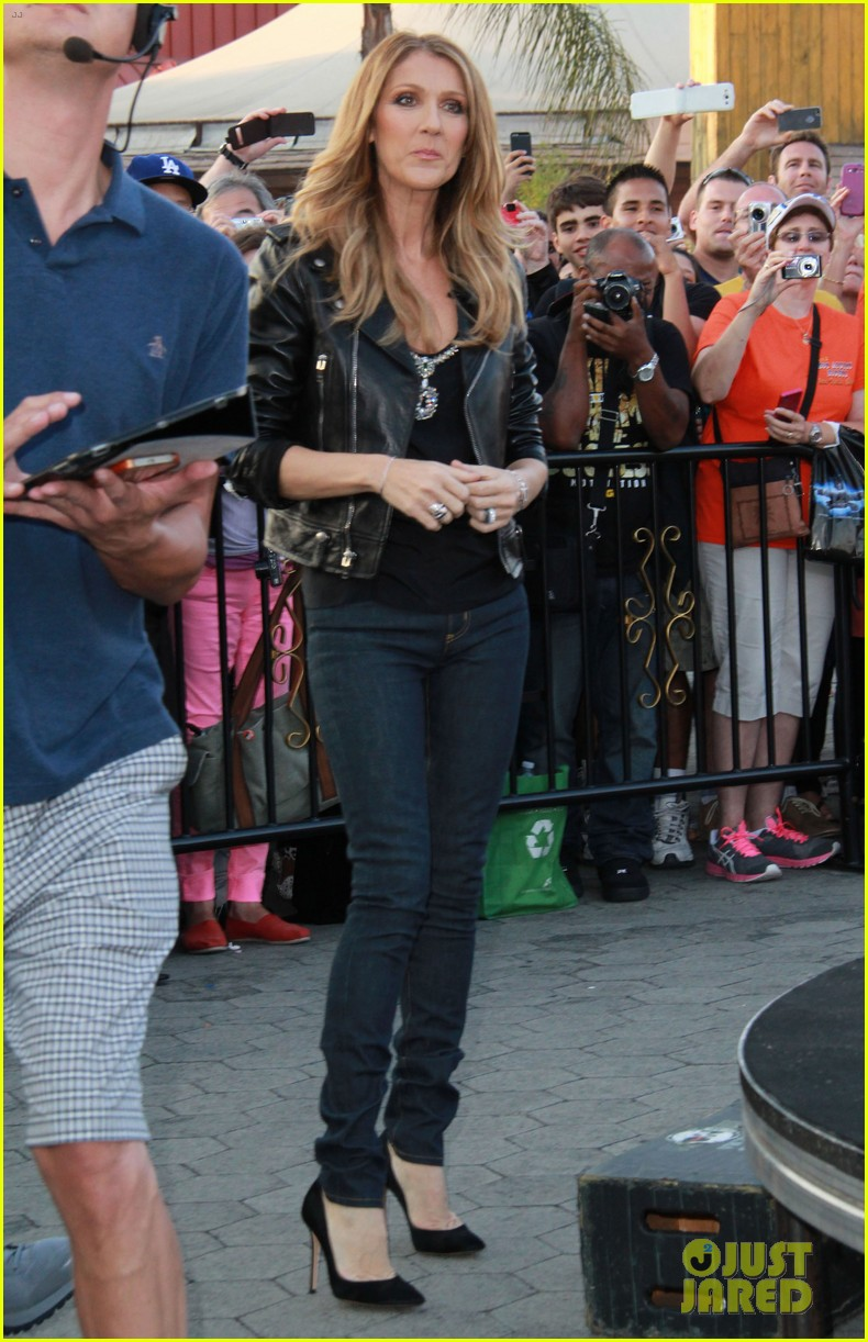 celine dion tapes extra appearance with maria menounos 032948972